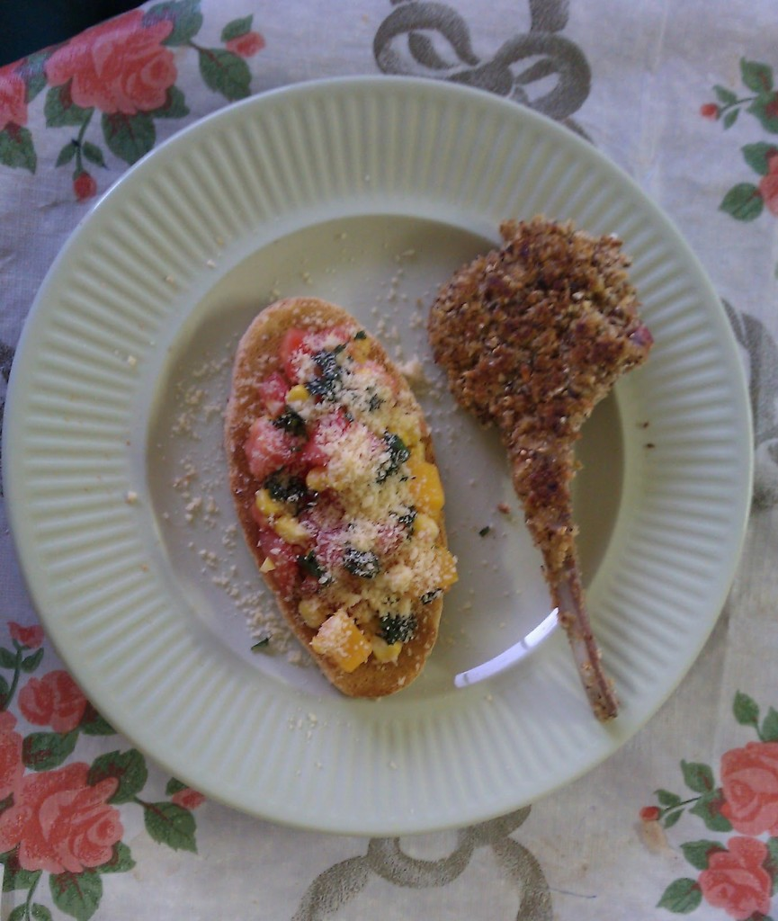 Cutlets and Bruschetta on Homemade, Healthy, Happy
