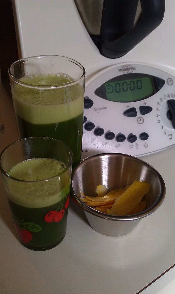 Green Smoothie on Homemade, Healthy, Happy
