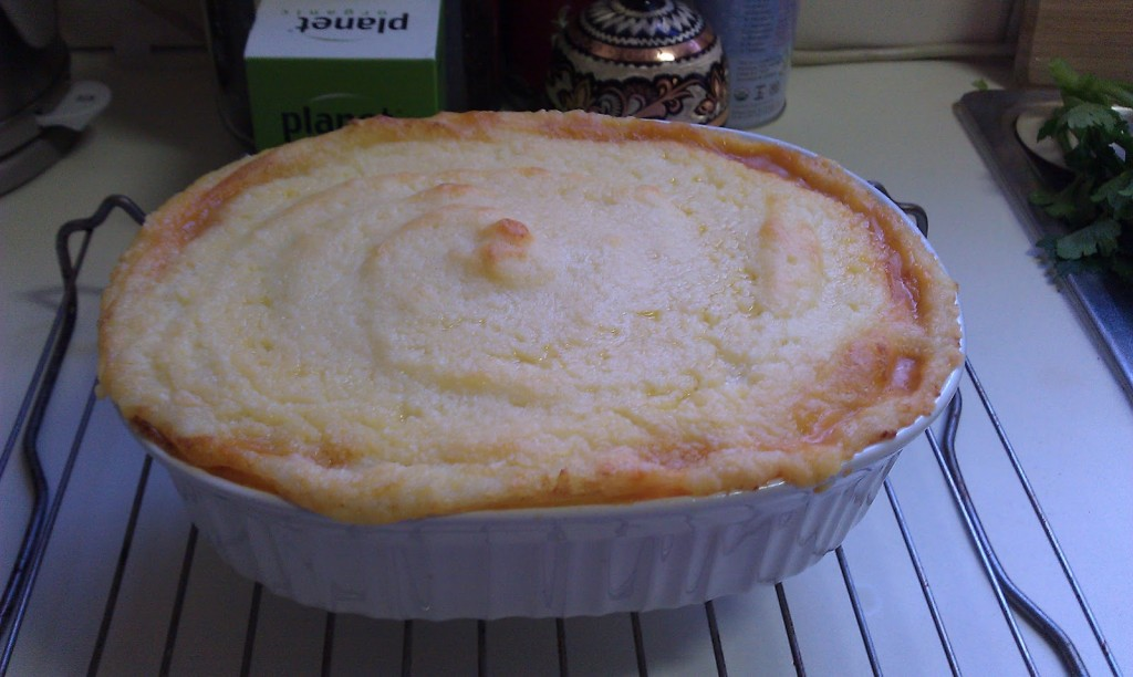 Shepherd's Pie on Homemade, Healthy, Happy