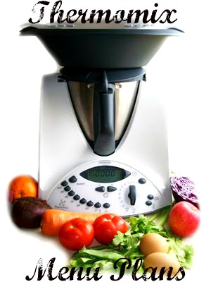 Thermomix Menu Plans – 14th of November