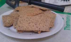 Spelt and Seeds Lavosh Crackers