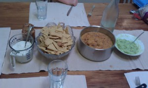 Homemade Corn Chips (and vegetarian nachos!)