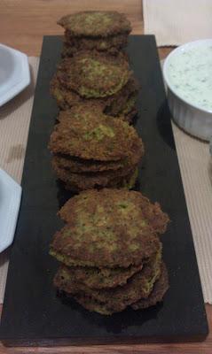 Broccoli and Cauliflower Fritters (GF, DF)