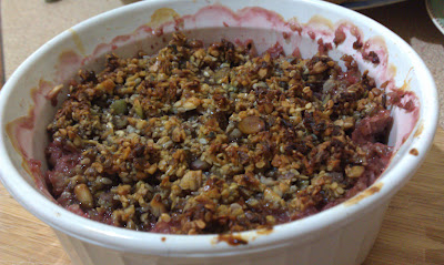 Grain Free Crumble – Sweet or Savoury