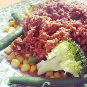 Bolognese Sauce (and a secret ingredient)