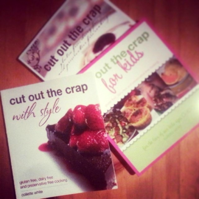 Cut out the Crap - Book Review and Giveaway on Homemade, Healthy, Happy