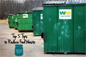 5 Tips to Reduce Food Waste