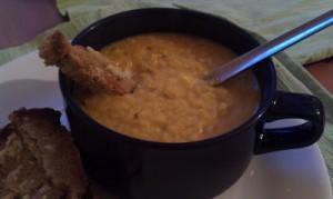 Soul-warming Orange, Fennel and Ginger Lentil Soup