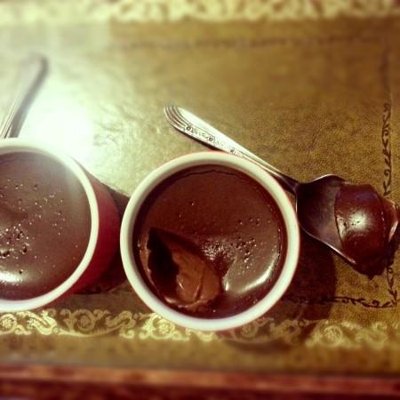 Chocolate pots de Creme on Homemade, Healthy, Happy